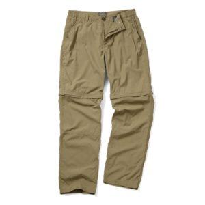 SCMJ055 Craghoppers Nosi ProLite Convertible Trousers - Sand