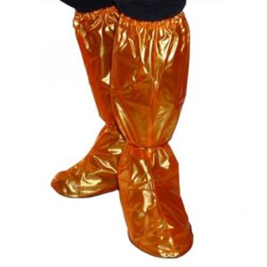 Splash Waterproof Shoe Covers - Orange