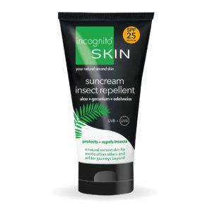 Incognito Suncream SPF 25 with Insect Repellent