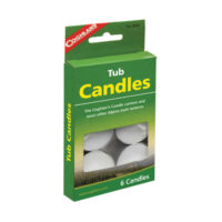 Coghlans Tub Candles (Tealights - Pack of 6)