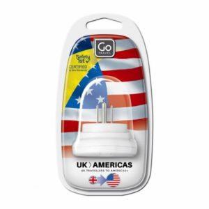 Design Go Travel Trans-World Adaptor - UK to America (526)