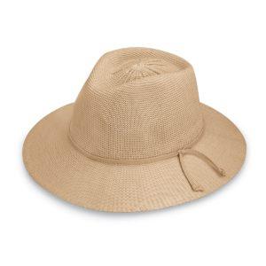 Wallaroo Ladies Victoria Fedora Hat - Tan
