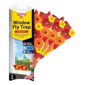 Zero In Window Fly Trap (Pack of 3)