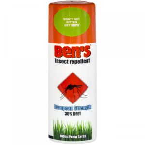 Ben's 30 Insect Repellent Spray (30% DEET) x 100ml