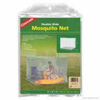 Coghlans Box Mosquito Net Untreated (Double) - White Box Net