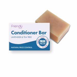 Friendly Soap Conditioner Bar - Lavender & Tea Tree