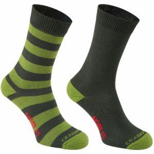 Khaki/Lime Stripe