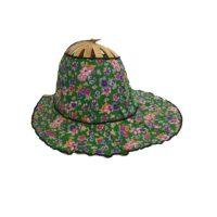 Green Meadow Folding Fan Hat