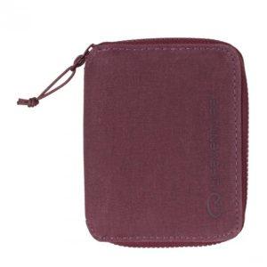 LifeVenture RFID Bi-Fold Wallet (6827) - Aubergine (purple)