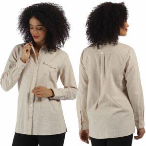 RLRWS001 - Regatta Ambray Shirt - Oatmeal