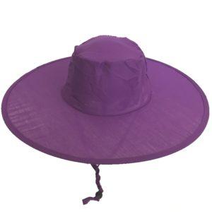 Pop Up Sun Hats - Purple