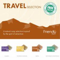 Friendly Soap Travel Selection Box (4 x 95g)