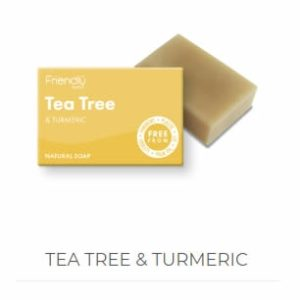 Tea Tree & Turmeric Soap