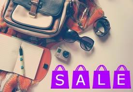 Travel Items Sale