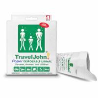 Travel John Paper Urinals