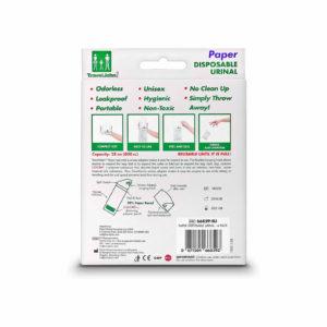 Travel John Paper Urinals - Instructions