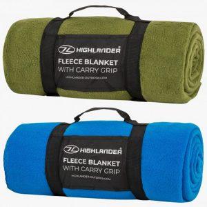 Highlander Fleece Blanket Combo