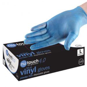 Nu Touch Vinyl Disposable Gloves