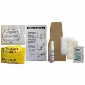 Cardboard Scraper Clean Up Kit