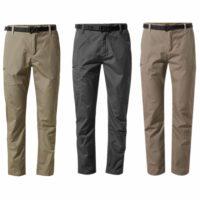 Craghopper NosiDefence Mens Kiwi Boulder Slim Trousers (CMJ521)