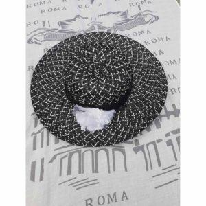 Vintage Monochrome Hat