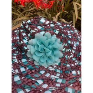 Vintage Chocolate Limes Hat