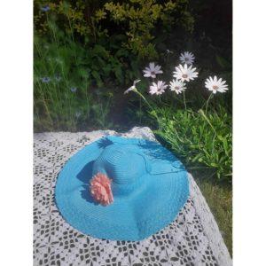 Vintage Blue Lagoon Hat