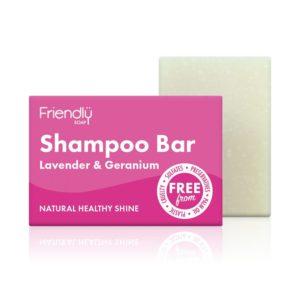 Friendly Soap Shampoo Bar - Lavender and Geranium