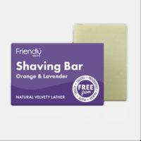 Friendly Soap Shaving Bar - Lavender & Orange