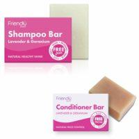 Friendly Soap Shampoo & Conditioner Twin Pack - Lavender & Geranium