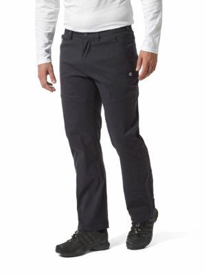 Craghoppers Mens SmartDry Trousers - CMJ494 - Dark Navy - Front