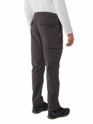 CMJ516 Craghoppers NosiLife Branco Trousers - Black Pepper - Back