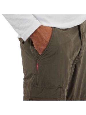 CMJ516 Craghoppers NosiLife Branco Trousers - Hand Pocket