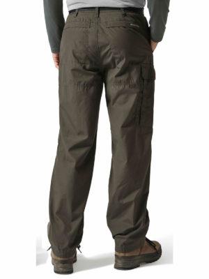 CMJ100 Craghoppers NosiDefence Classic Kiwi Trousers - Bark - Back