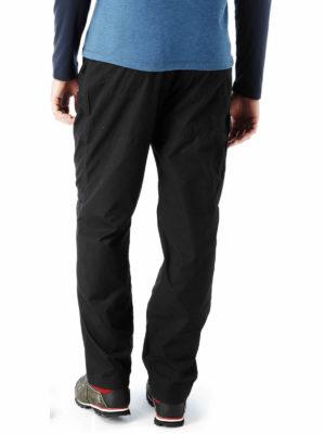 CMJ100 Craghoppers NosiDefence Classic Kiwi Trousers - Black - Back