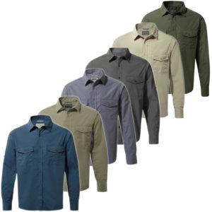 CMS338 Craghoppers NosiDefence Mens Kiwi Shirt