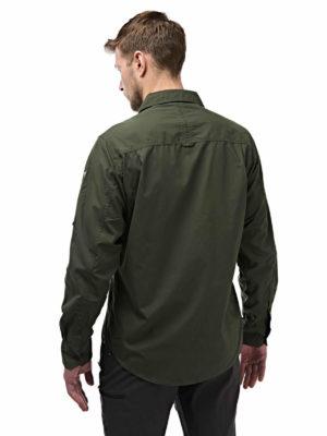 CMS338 Craghoppers NosiDefence Mens Kiwi Shirt - Cedar - Back