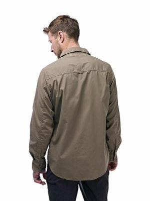 CMS338 Craghoppers NosiDefence Mens Kiwi Shirt - Pebble - Back