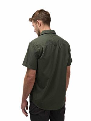 CMS339 Craghoppers NosiDefence Kiwi Shirt - Cedar - Back