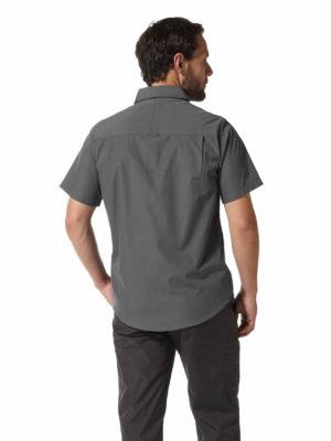 CMS339 Craghoppers NosiDefence Kiwi Shirt - Ombre Blue - Back