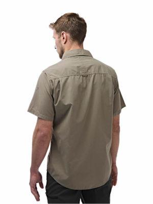 CMS339 Craghoppers NosiDefence Kiwi Shirt - Pebble - Back