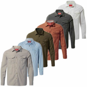 CMS605 Craghoppers NosiLife Mens Adventure Shirt