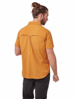 CMS607 Craghoppers NosiLife Adventure II Shirt - Cumin - Back