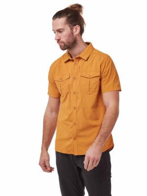 CMS607 Craghoppers NosiLife Adventure II Shirt - Cumin - Front