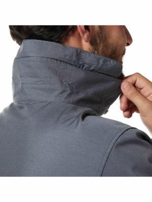 CMS612 Craghoppers NosiDefence Kiwi Boulder Shirt Collar