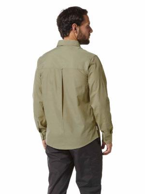 CMS612 Craghoppers NosiDefence Kiwi Boulder Shirt Rubble Back
