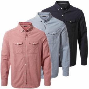 CMS626 Craghoppers Kiwi Linen Shirt