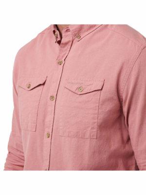 CMS626 Craghoppers Kiwi Linen Shirt - Pockets