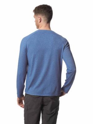 CMT888 Craghoppers NosiLife Mens Bayame Tee - Delft Blue - Back
