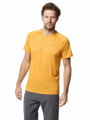 CMT890 Craghoppers NosiLife Baselayer Top - Indian Yellow - Front